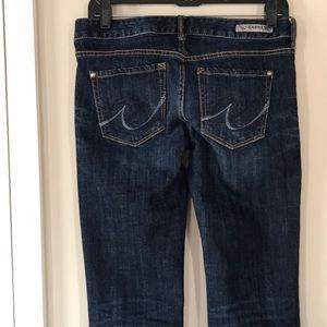 Express Jeans - Express Stella Dark Wash Boot Jean Sz 2